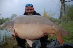 Ardy Veltkamp 72.6lb Mirror caught on C2