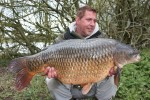 Guy Aitkins with a 38lb 12oz Common taken on Century NG's