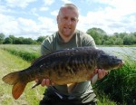 Lee Collings, mid double Mirror - first catch on new Century SP