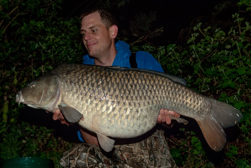 """Michael with """"Luke's Common"""" at 41lb"""