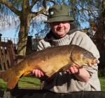 Ken South - Caught on Leadless Leader
