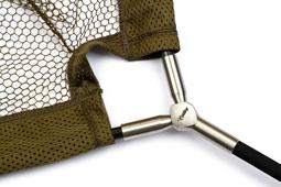 Net handle close up